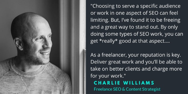 Charlie Williams SEO and Content Strategy Consultant