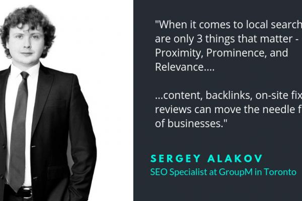 Sergey Alakov SEO specialist