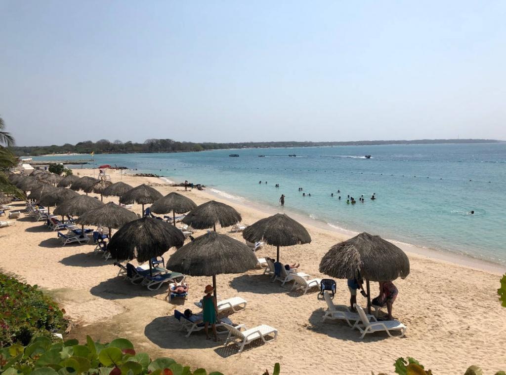 Beach at Cartagena