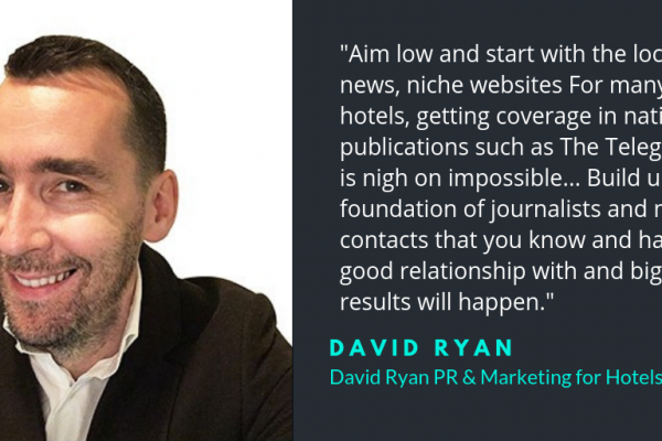 David Ryan PR for hotels