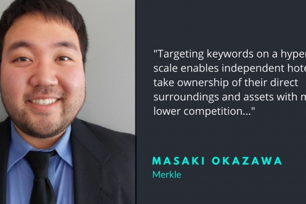 Masaki Okawawa search marketer
