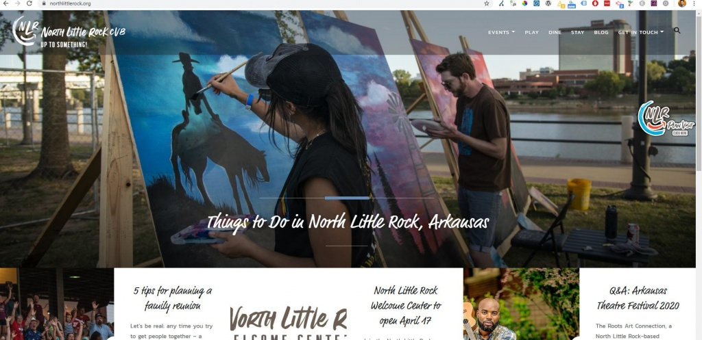 North Little Rock Club website